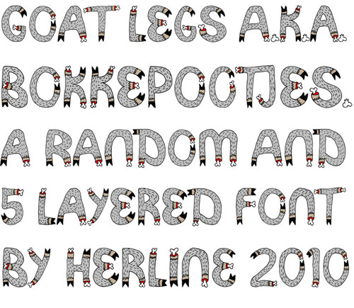 grafisch lettertype ontwerp