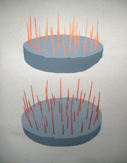 zeefdruk poster ontwerp