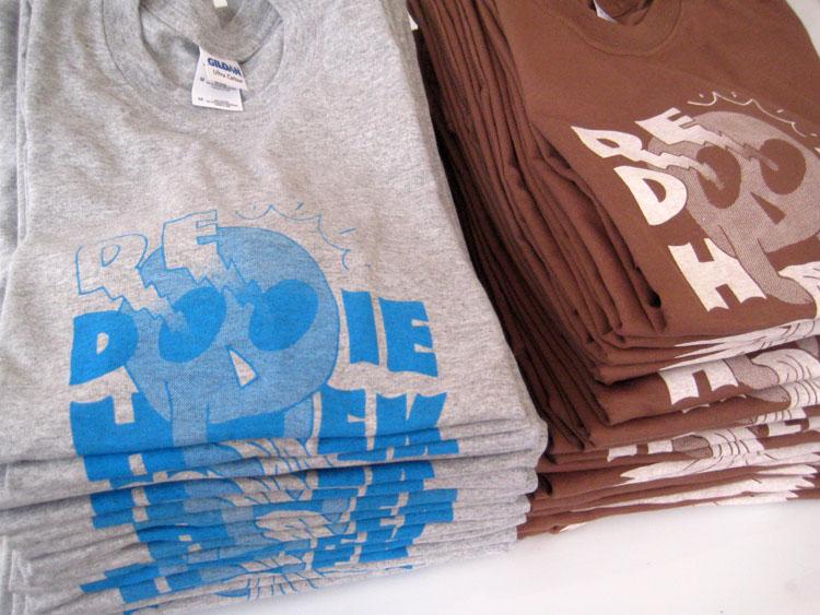 grafisch ontwerp logo op T-shirt