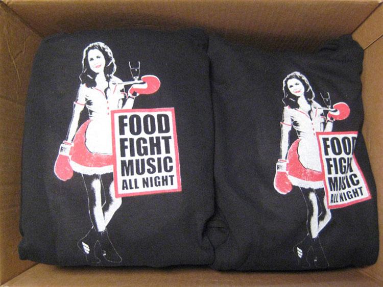 grafisch ontwerp hoodies boks evenement